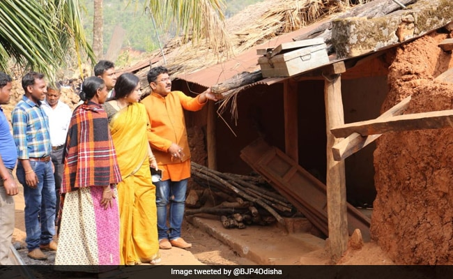 No Compensation Received By Cyclone Titli Victims, Says BJP Odisha Wing
