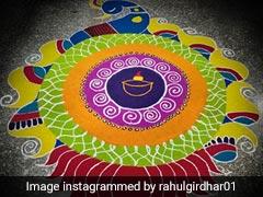 Diwali 2019: इस बार दिवाली पर रंगोली के साथ बनाएं यह खास चीज, देखें Rangoli Designs और दिवाली स्पेशल रेसिपी