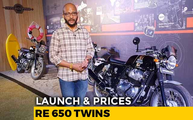 Video : Royal Enfield 650 Twins Launched; Prices Begin At Rs. 2.5 Lakh