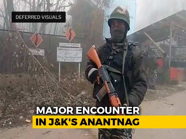 Video : 6 Lashkar Terrorists Killed In Encounter In Jammu And Kashmir's Anantnag