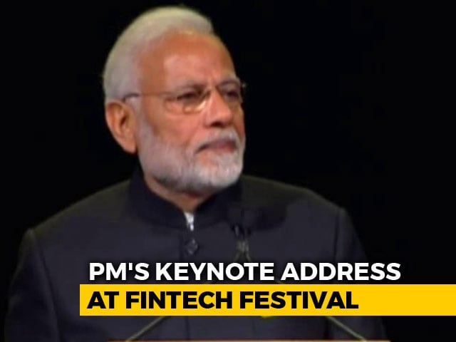 "Video : ""Financial Inclusion A Reality For 1.3 Billion Indians:"" PM In Singapore"