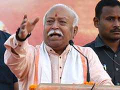 Car In RSS Chief's Convoy Overturns In Bid To Save Cow, One Injured