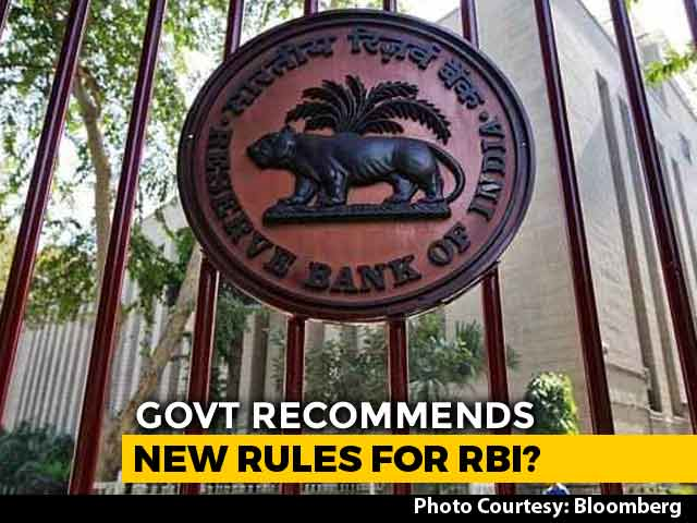 Video : Centre's New Move May Escalate Feud With RBI Ahead Of Board Meet: Report