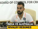 "Video: Virat Kohli Says He Was ""Immature"" To Get Into On-Field Spats"