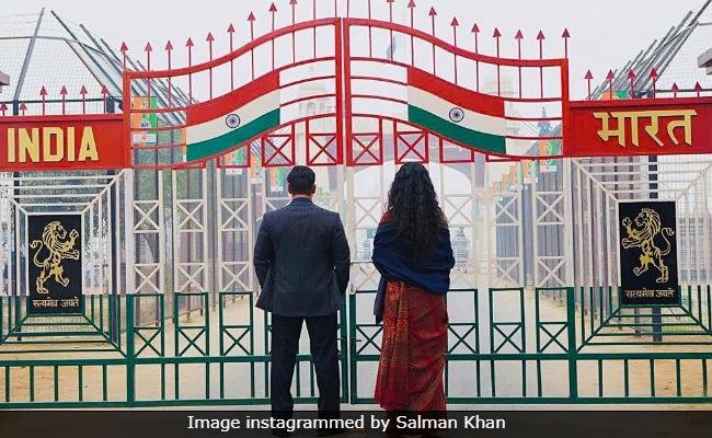 salman khan s bharat no opposition wagah border scene was shot