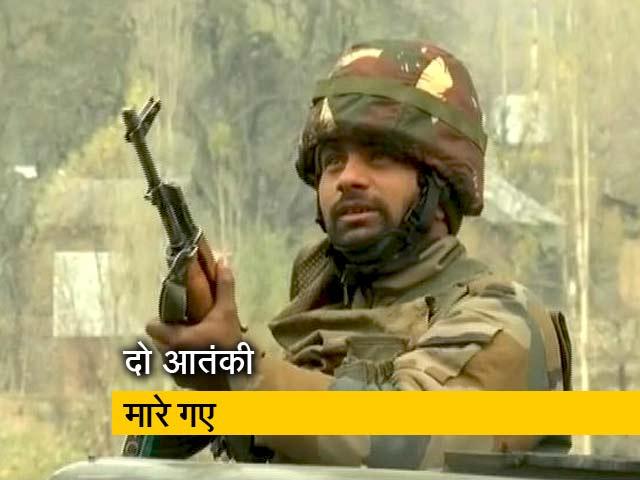 Video : वडगाम मे एनकाउंटर, सुरक्षाबलों ने दो आतंकियों को मार गिराया