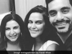 New Parents Neha Dhupia And Angad Bedi Are 'Tired And Ecstatic,' Says Farah Khan After Visiting