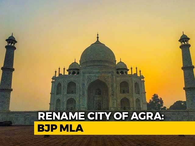 "Video : ""Agra To Agrawal"": BJP Leaders Want To Rename More Uttar Pradesh Cities"