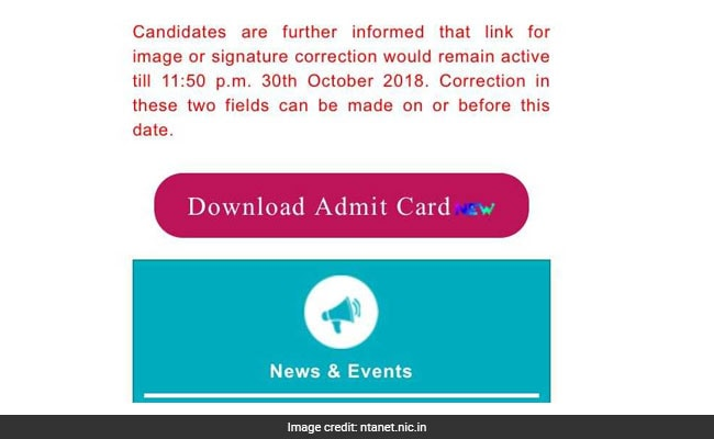 Here's How To Download Your UGC NET Admit Card Using Mobiles