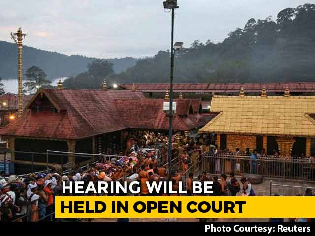 Video : Supreme Court Agrees To Review Sabarimala Verdict In Open Court