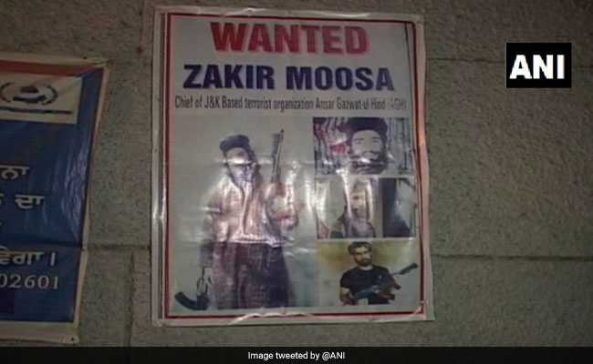 Terrorist Zakir Moosa May Be In Punjab, Disguised As Sikh, Warns Intel