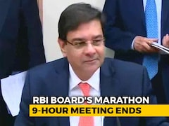 Video: In Marathon Meeting, RBI Moves To Address Centre's Concerns