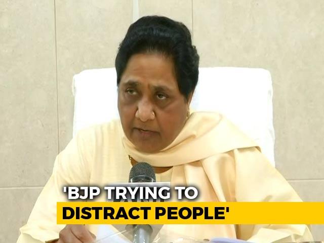 Video : On Ayodhya, Mayawati's Advice To BJP And Shiv Sena