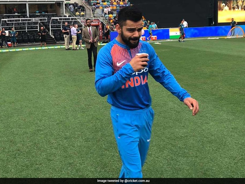 Virat Kohli Gets Huge Welcome At Gabba. Watch