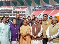 Yogi Adityanath Inaugurates Lucknow Cricket Stadium, Changes Its Name