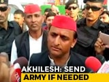 Video : Call In Army, BJP Can Go To Any Extent In Ayodhya, Says Akhilesh Yadav