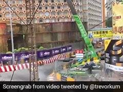 Driver Fractures Spine As Car Flies Through Air At Macau Grand Prix