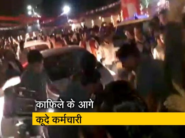Videos : रेल मंत्री पीयूष गोयल के कार्यक्रम में हंगामा