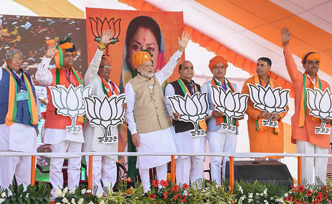 Campaigning Ends As Rajasthan Prepares For Assembly Polls On Friday