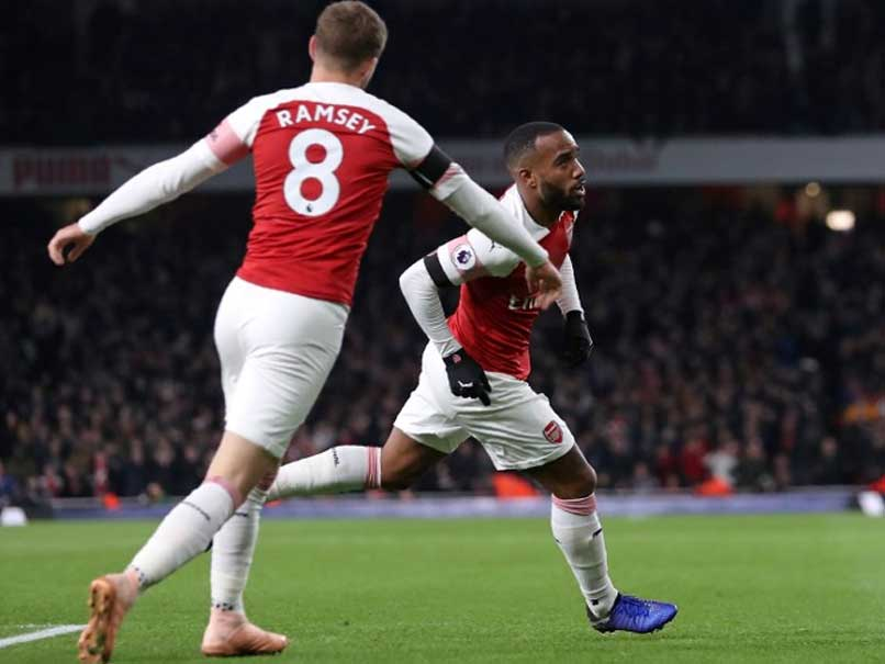 Arsenal fans have explained Alexandre Lacazette's celebration vs Liverpool