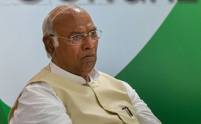 Congress Saved Democracy, Says Mallikarjun Kharge In Maharashtra