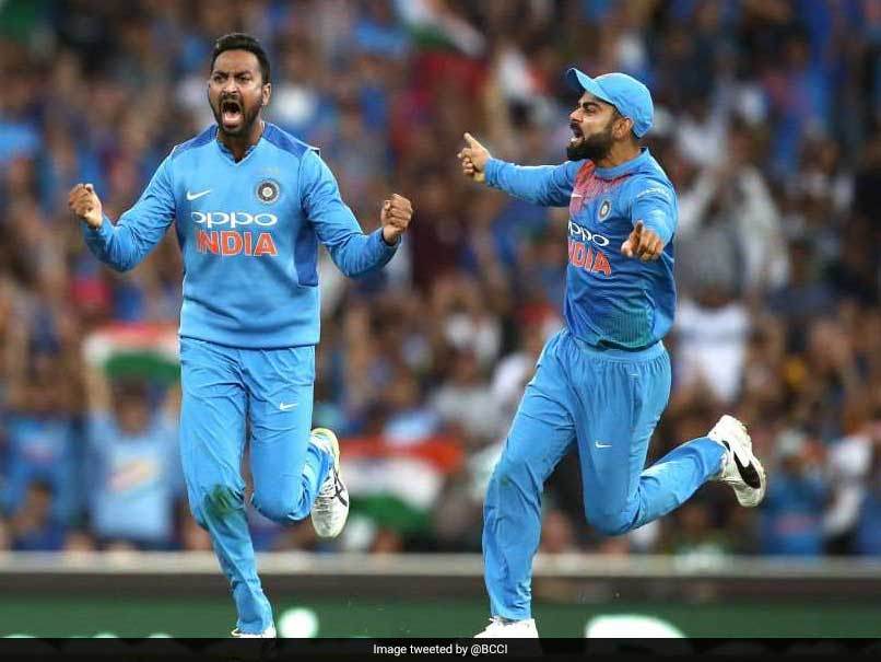 Krunal Pandya Sets T20Is Record For A Spinner In Australia