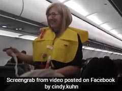 """Like A Teeny-Weeny Bikini"": Flight Attendant Cracks Up Passengers"