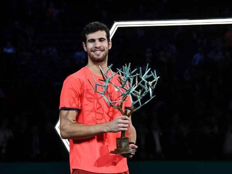 Unseeded Karen Khachanov Stuns Novak Djokovic To Win Paris Masters