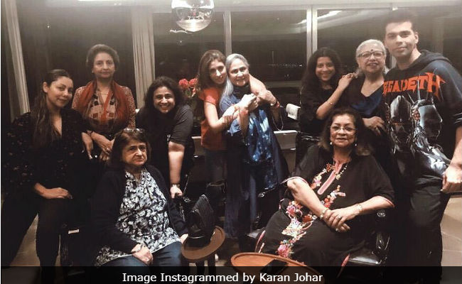 Gauri Khan, Shweta Bachchan Nanda And Zoya Akhtar Attend 'Mommy Dinner' At Karan Johar's Home