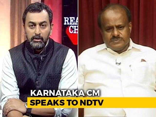 Video : Pure Arithmetic, Says HD Kumaraswamy After Alliance Math Trumps BJP
