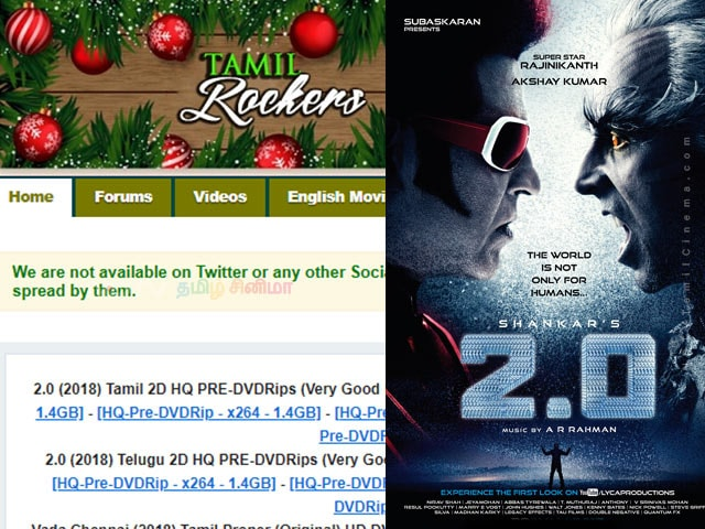 2.0 In Tamil Rockers