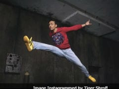 When Tiger Shroff Is 'Late For Work,' He Does This...