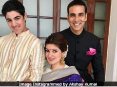 Here's How Twinkle Khanna Found A Way To Be 'Omnipresent' In Son Aarav's Life