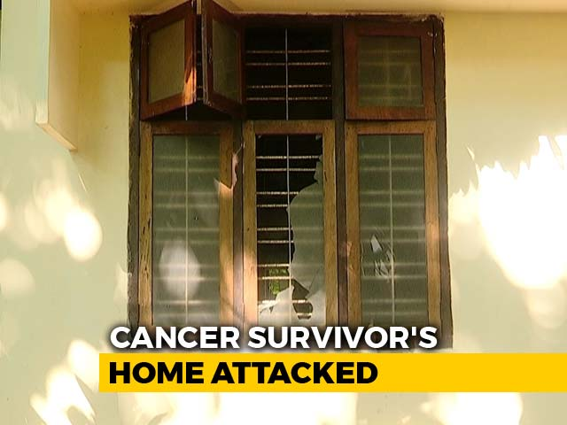 Video : Cancer Survivor Wanted To Help Women Reach Sabarimala, Home Attacked
