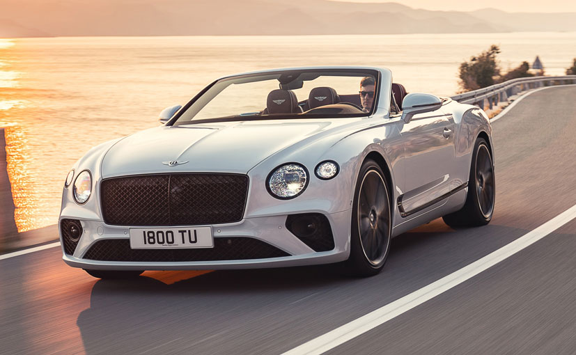 The Bentley Continental GT Convertible can go from 0-100 kmph in 3.8 seconds