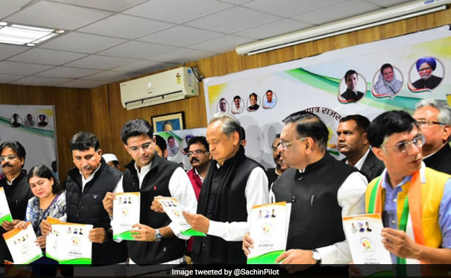 Assembly Elections LIVE Updates: Rajasthan Congress Releases Manifesto