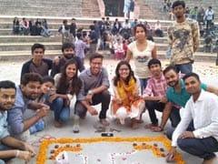 दिवाली के दीपकों से जगमग हुआ जामिया मिल्लिया इस्लामिया, 'युवा' ने किया छात्र मिलन का आयोजन