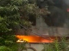 Fire Breaks Out At Factory In Delhi's Bawana, 22 Fire Engines At Spot