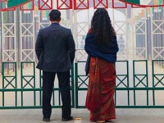In New <i>Bharat</i> Still, Salman Khan And Katrina Kaif At Wagah Border