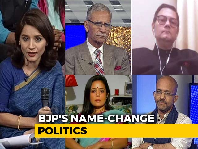 Video : We The People: Will Name-Change Spree Help BJP In 2019?