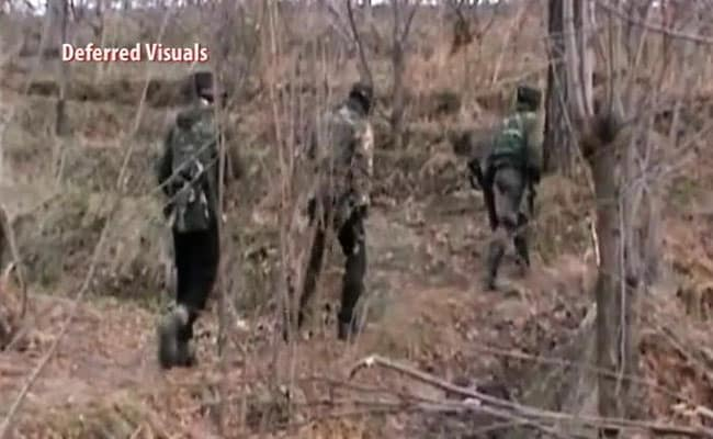 Search Operation In Village In Jammu And Kashmir's Shopian: Police