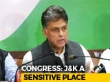 Video : Congress Question's J&K Governor's Decision To Dissolve Assembly