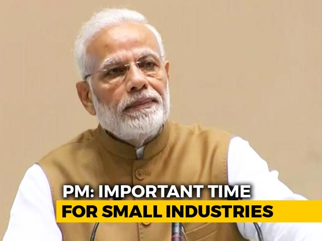 Video : PM Modi Launches 59-Minute Loans Programme For Small Industries