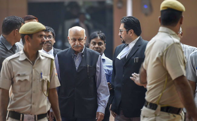 'Priya Ramani Made Defamatory Statement Out Of Vengeance': MJ Akbar Tells Court