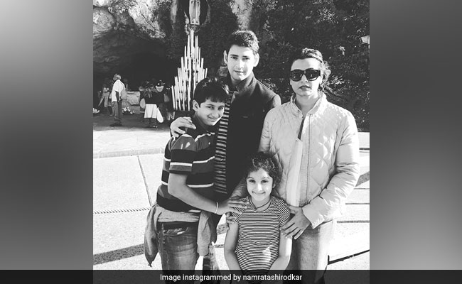 Namrata Shirodkar Shares A Throwback Pic Of Mahesh Babu To Celebrate A Special Day