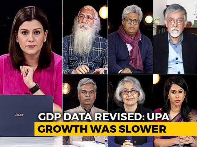 Video : Revised GDP Data: Genuine Or Political Move By NDA Government?