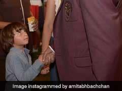 अबराम खान हुए अमिताभ बच्चन से खफा, बोले- दादा आप हमारे घर पर क्यों...?