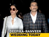 Video : Deepika Padukone And Ranveer Singh's Wedding Day: The Venue And Other Detail
