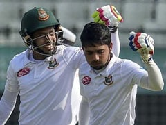 2nd Test Day 1: Mominul, Mushfiqur Put Bangladesh In Command vs Zimbabwe