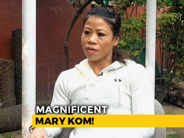 Video : I Put My Heart And Soul Into Training, Says Mary Kom